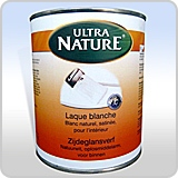 Laque blanche ultranature isol naturel